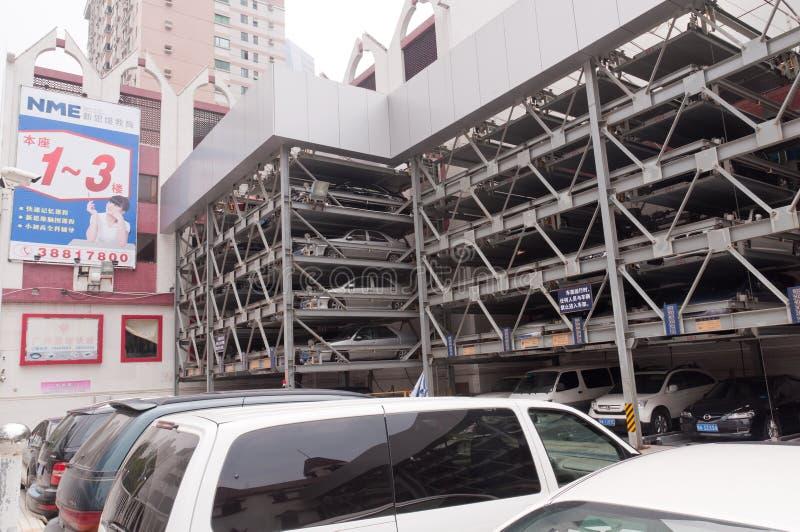 Parcheggi di Guangzhou fotografie stock libere da diritti