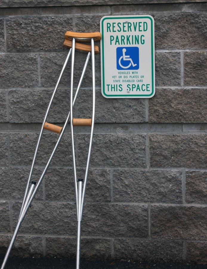 Parcheggio andicappato immagini stock libere da diritti