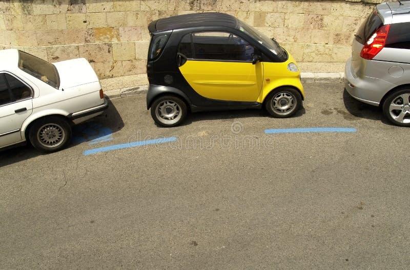 Parcheggio astuto fotografie stock