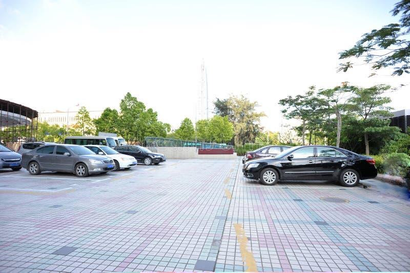 parcheggio broaded immagini stock
