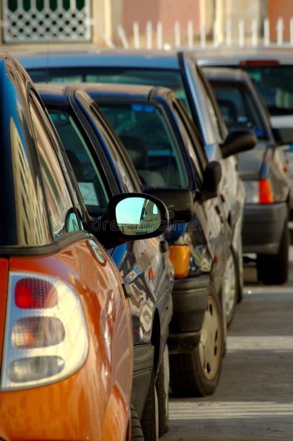 Parcheggio dell'automobile fotografie stock