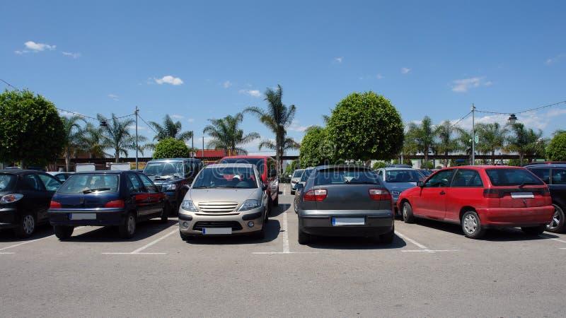 Parcheggio dell'automobile fotografia stock libera da diritti
