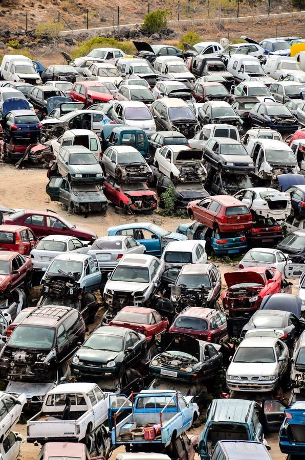 parcheggio nel parcheggio, immagine digitale della foto come fondo fotografie stock
