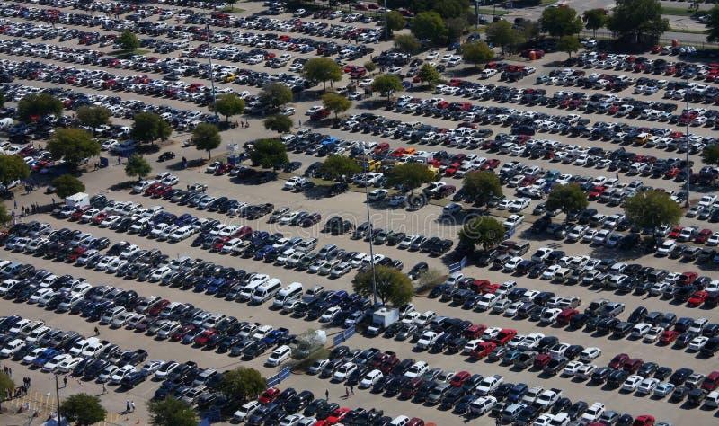 Parcheggio occupato fotografie stock libere da diritti