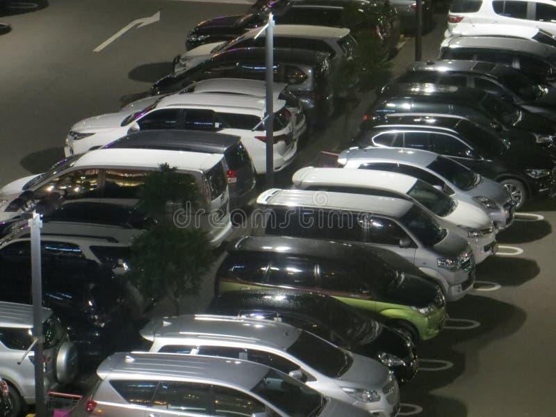 Parcheggio in Tangerang fotografia stock
