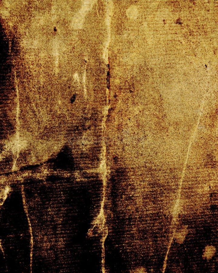 Parchemin âgé, vieux papier comme fond de cru illustration libre de droits