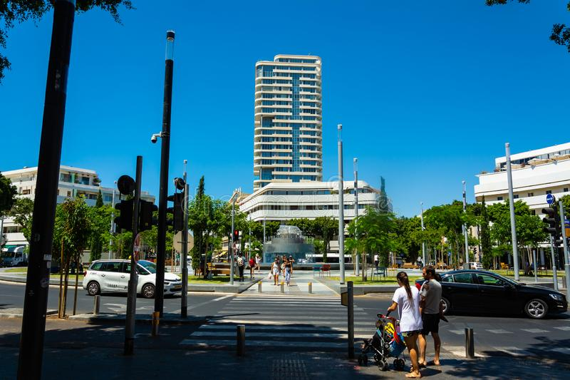 Parchi ed aria aperta Tel Aviv fotografia stock libera da diritti