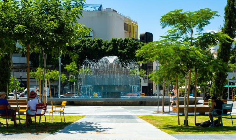 Parchi ed aria aperta Tel Aviv immagini stock