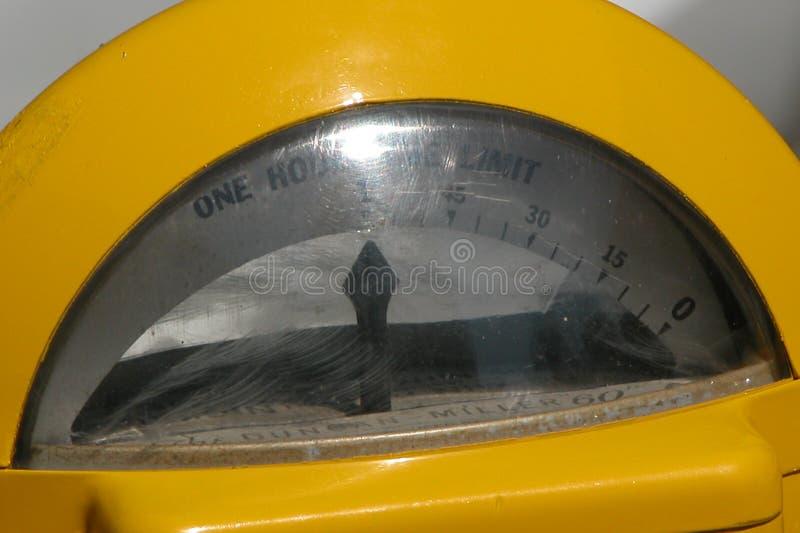 Parchimetro Fotografia Stock Libera da Diritti
