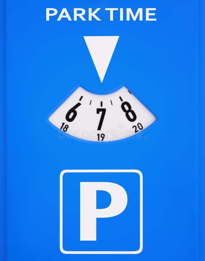 Parchimetro fotografia stock