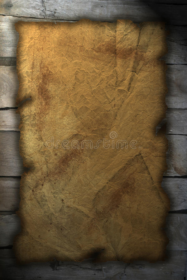 Download Parchment stock illustration. Illustration of rough, aged - 10059746