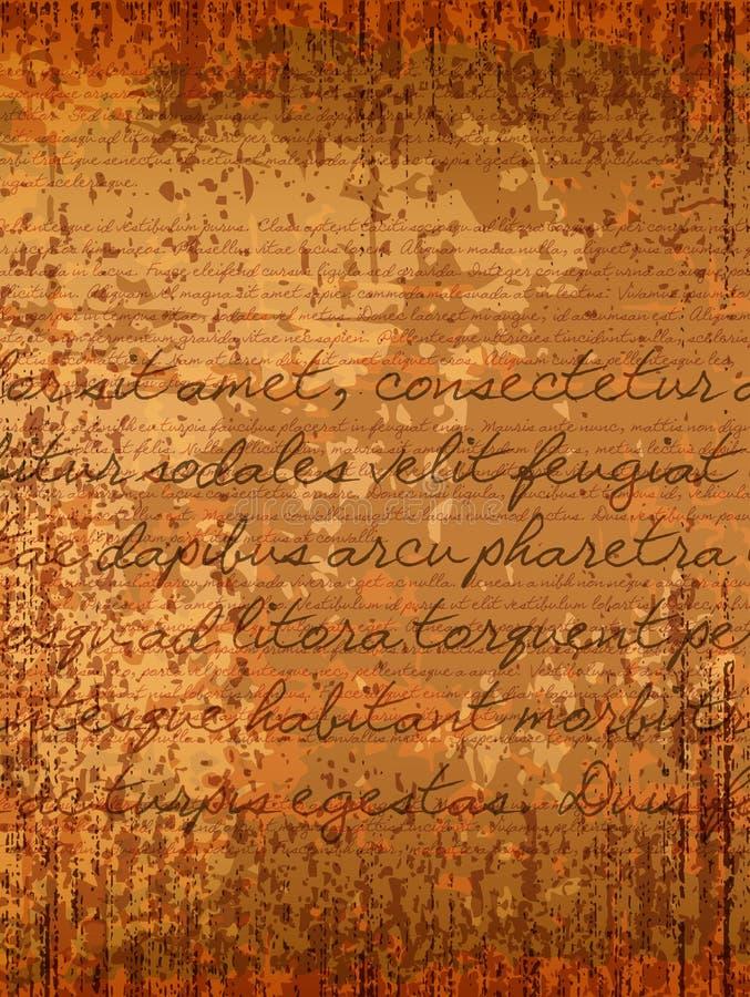parchment ilustração royalty free