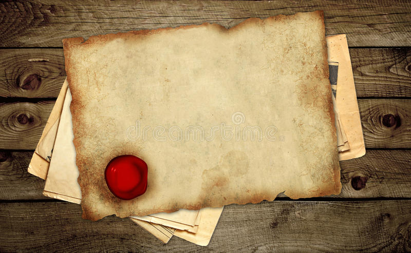 Download Parchment Stock Photo - Image: 16426830