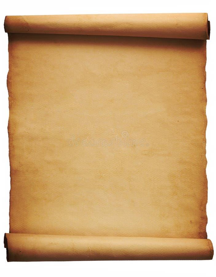 parchment imagem de stock