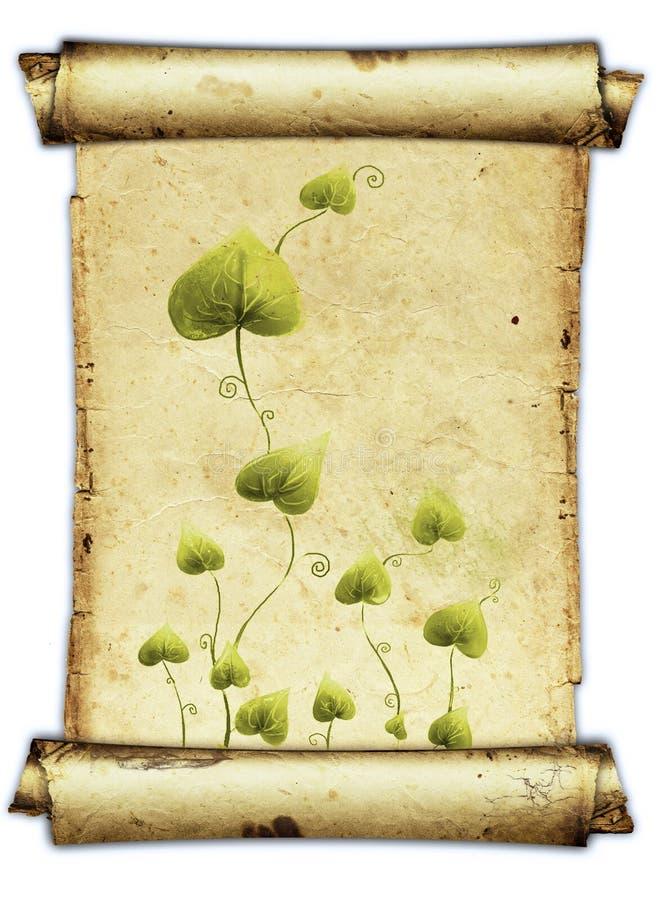 parchment stock illustrationer