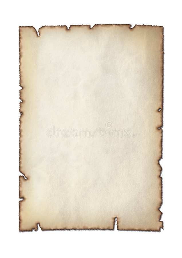 Parchment royalty free illustration