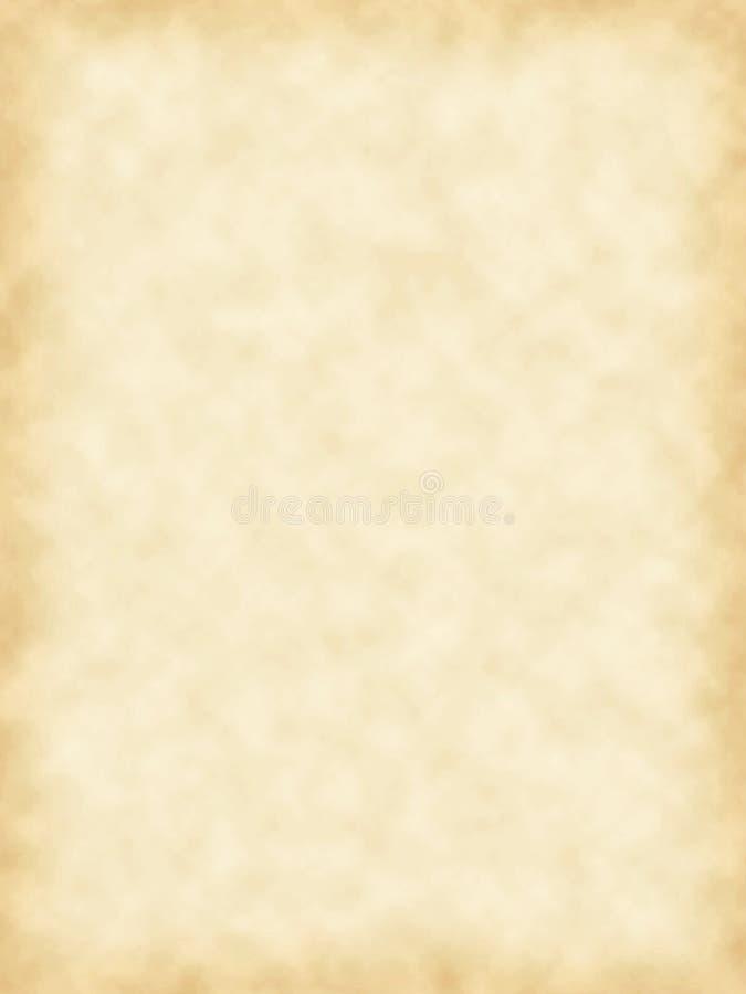 parchment för blankt papper royaltyfri illustrationer