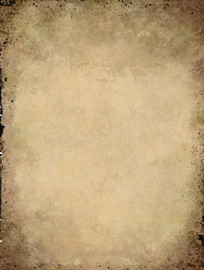 Download Parchment grunge texture stock illustration. Image of brittle - 7859244