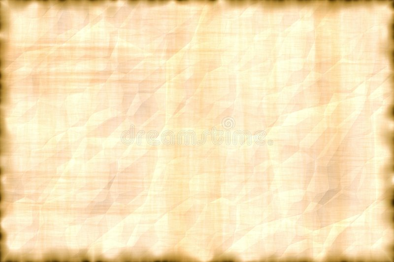 Parchment horizontal. royalty free stock photo