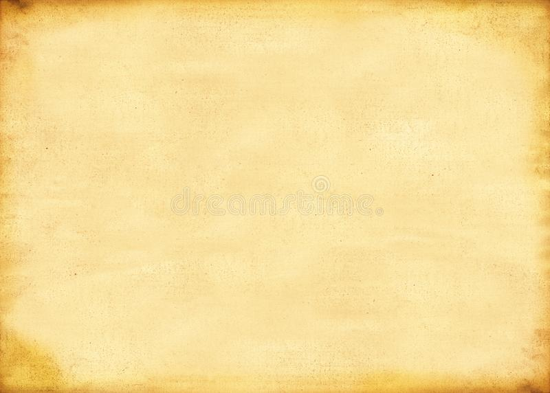 Old paper or parchment sheet royalty free stock photography