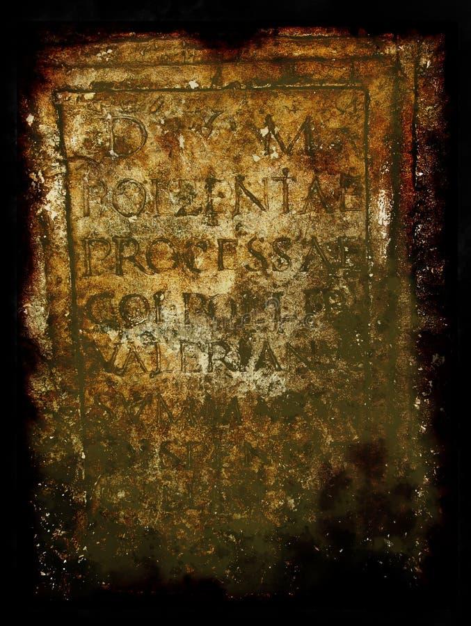 Parchment - Roman frame vector illustration