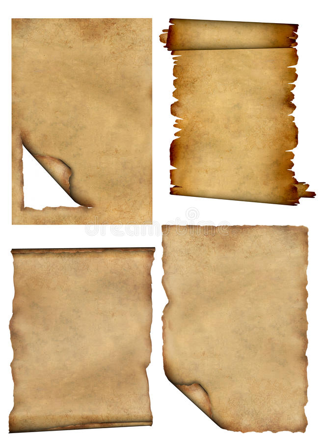 parchments διανυσματική απεικόνιση