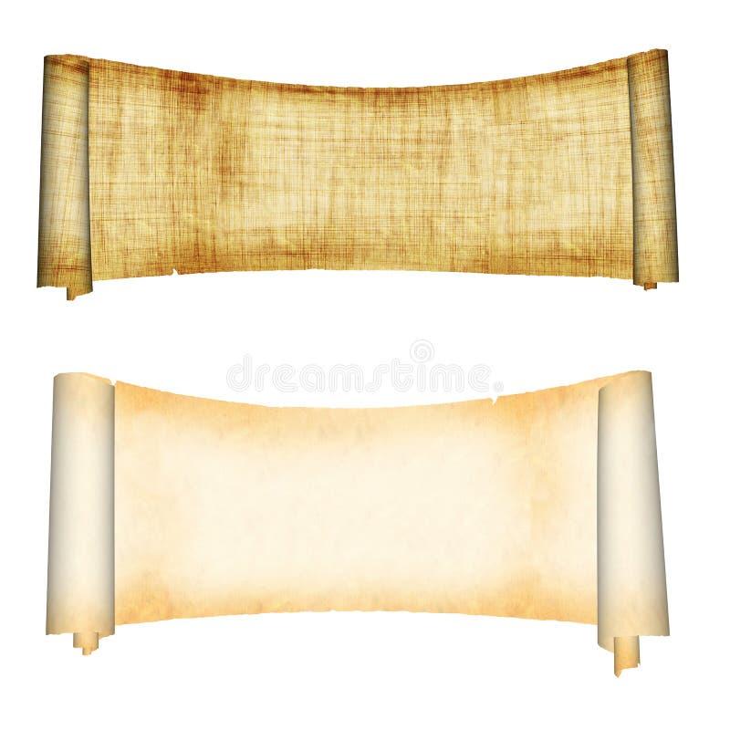 parchments στοκ φωτογραφία με δικαίωμα ελεύθερης χρήσης
