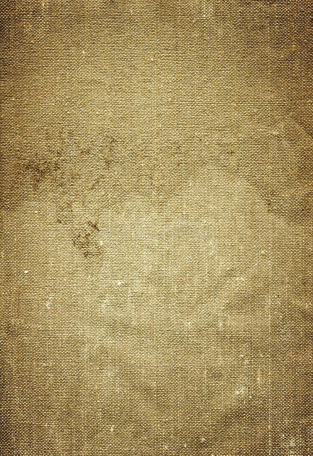 Parciaka lub burlap tła tekstura zdjęcie royalty free