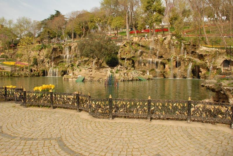 Parco all'aperto di Emirgan Korusu fotografia stock libera da diritti