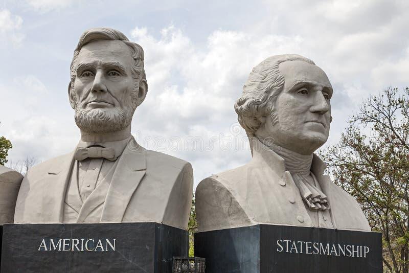 Parco americano di politica a Houston, il Texas fotografia stock libera da diritti