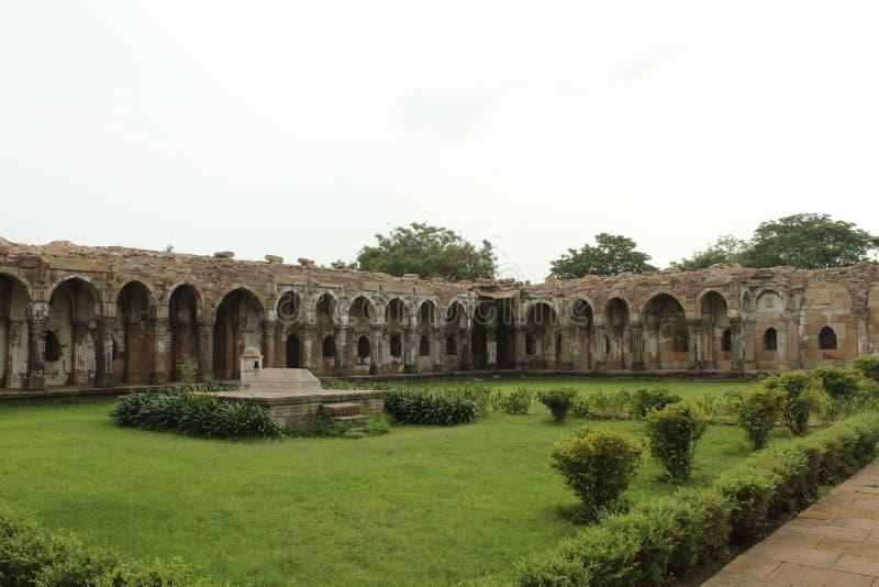 Parco archeologico di Champaner-Pavagadh fotografia stock libera da diritti