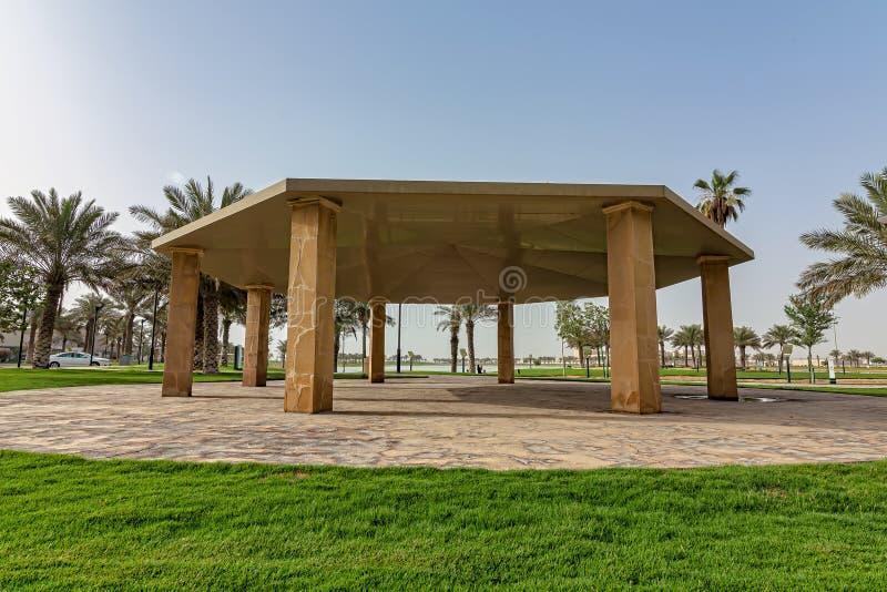 Parco-Dammam Arabia Saudita del lago Modon fotografie stock libere da diritti