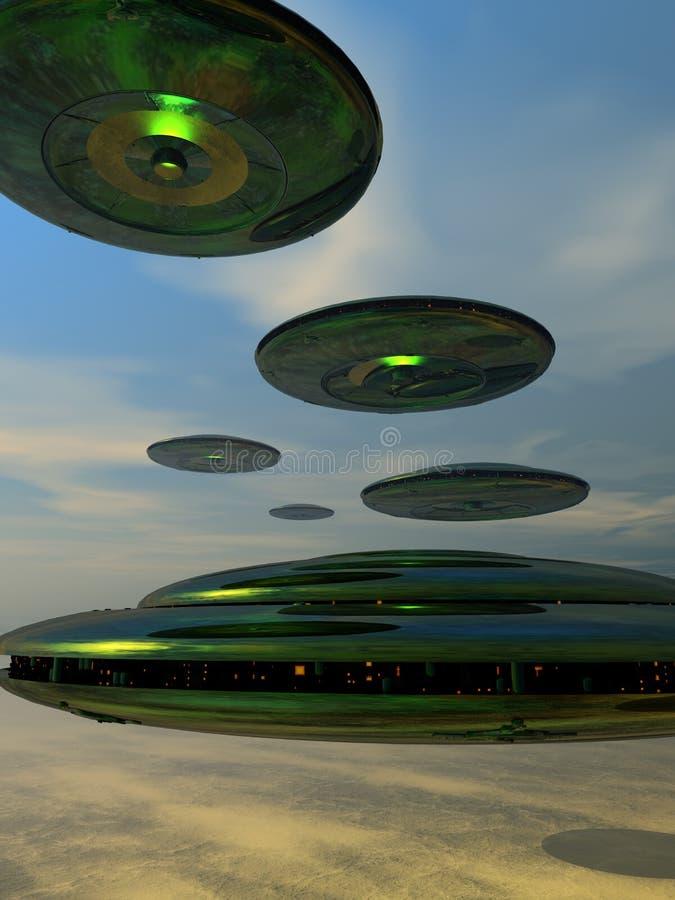 Parco del disco volante immagine stock libera da diritti