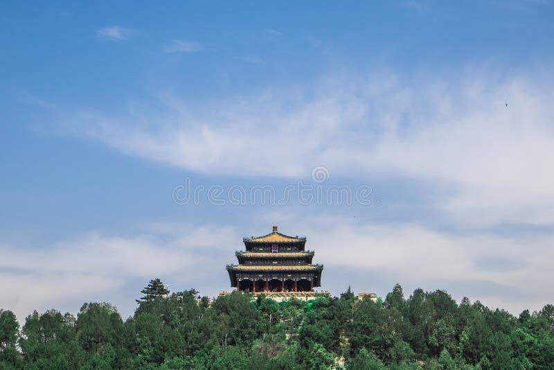Parco del Jingshan di Bejing immagine stock