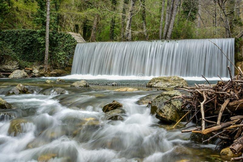 Parco del Pollino -巴斯利卡塔,意大利 免版税库存图片