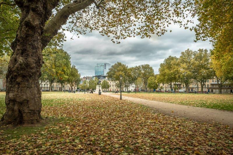 Parco del ` s della regina - Bristol Oct 2018 fotografia stock libera da diritti