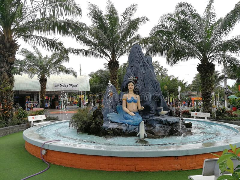 Parco dell'acqua di ??i Nam Wonderland Binh Duong immagini stock