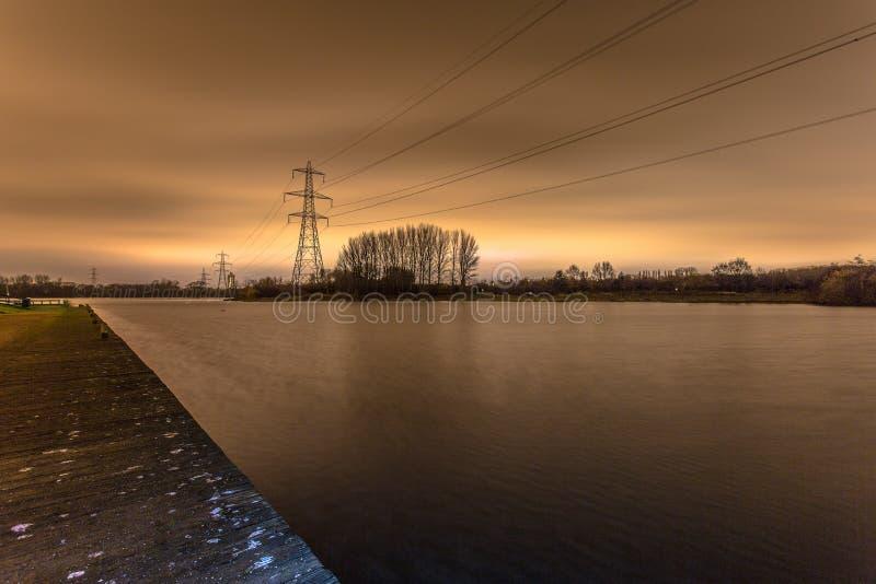 Parco dell'acqua di vendita (Manchester, Regno Unito) immagine stock
