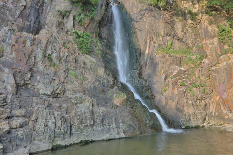 Parco della baia della cascata, HK fotografia stock libera da diritti