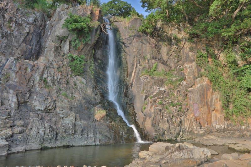Parco della baia della cascata, HK fotografia stock