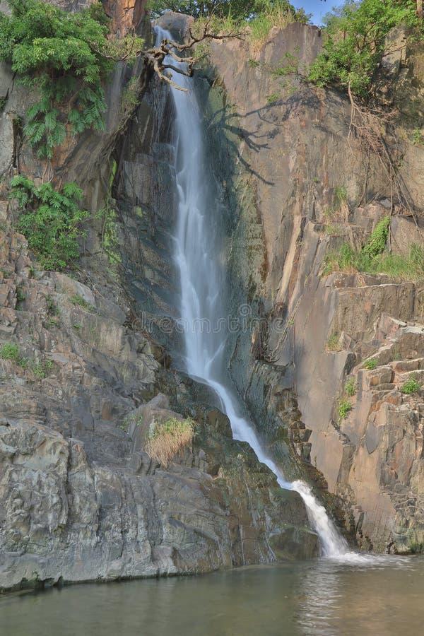 Parco della baia della cascata, HK immagine stock libera da diritti