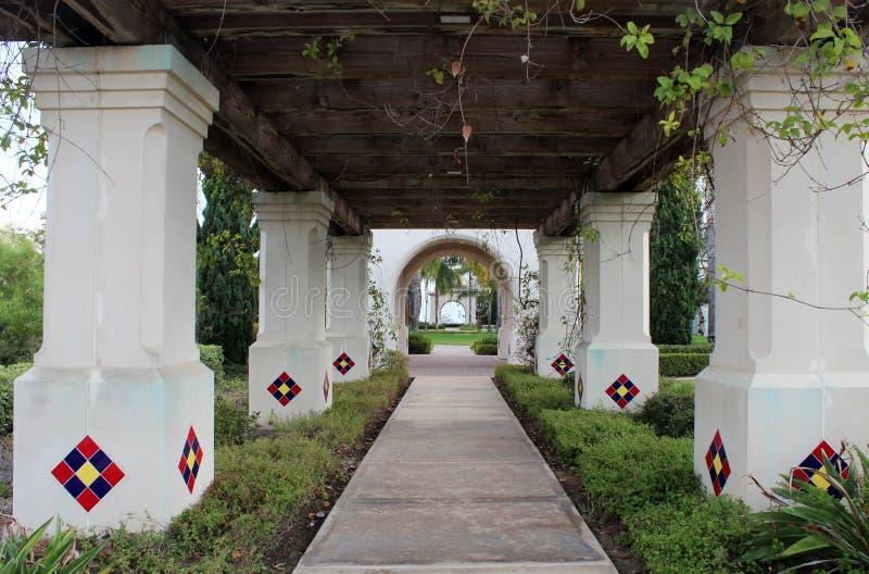 Parco della balboa, San Diego immagine stock libera da diritti