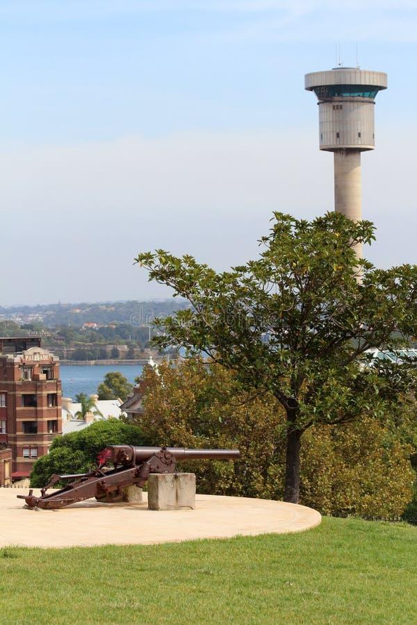 Parco della collina dell'osservatorio - Sydney, Australia fotografie stock libere da diritti