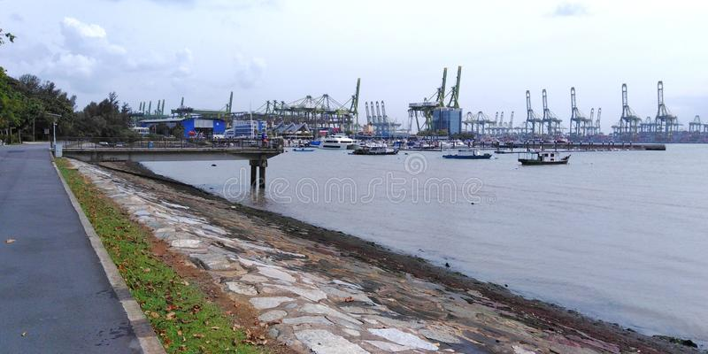 Parco della costa ovest, Singapore immagine stock