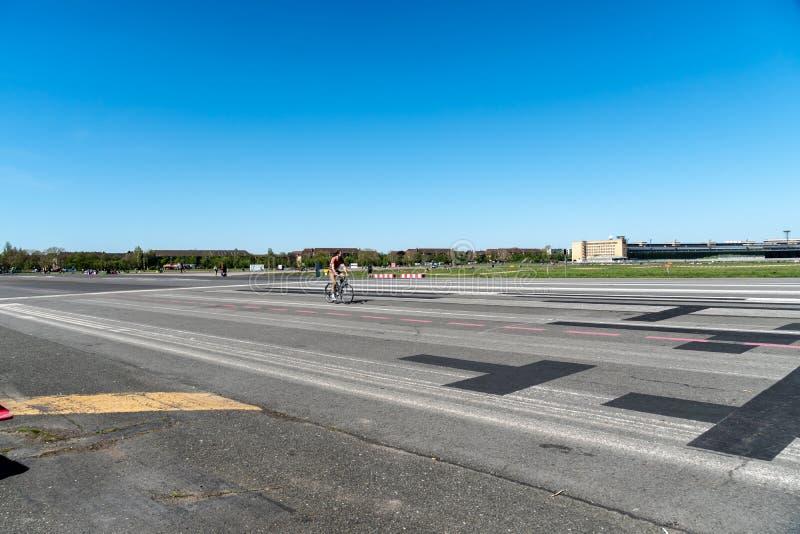 Parco di Berlin Tempelhof fotografia stock libera da diritti