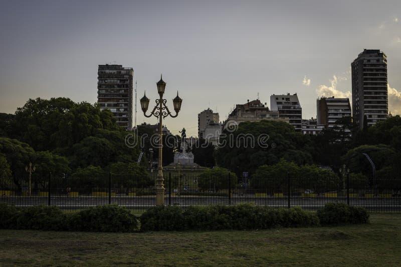 Parco di Buenos Aires immagini stock libere da diritti