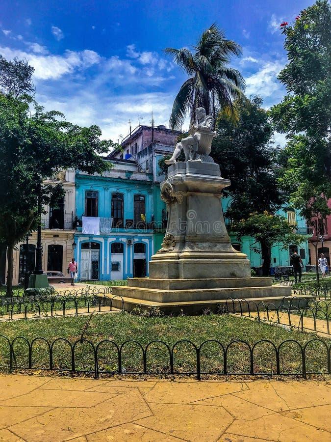 Parco di Cervantes in habana immagini stock libere da diritti