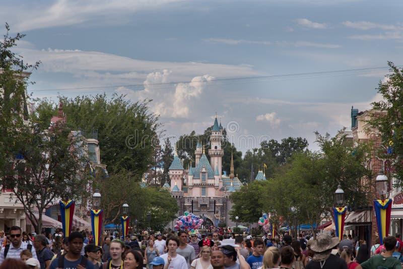 Parco 2018 di Disneyland fotografia stock