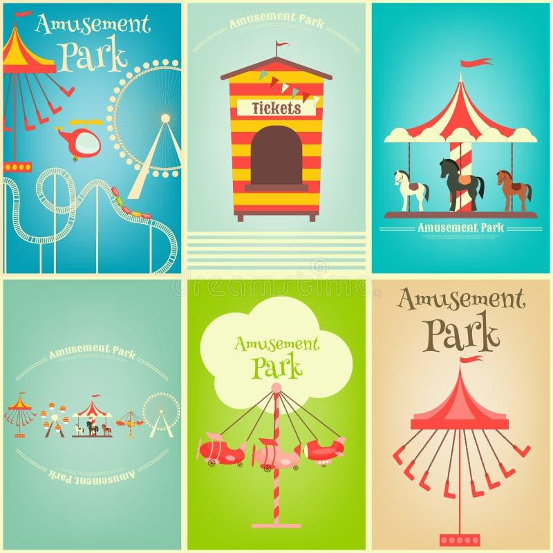 Parco di divertimenti royalty illustrazione gratis