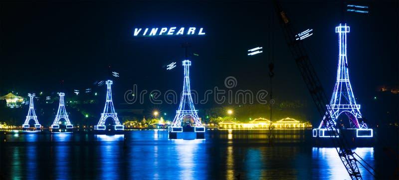 Parco di divertimenti di Vinpearl, Nha Trang, Vietnam immagini stock libere da diritti